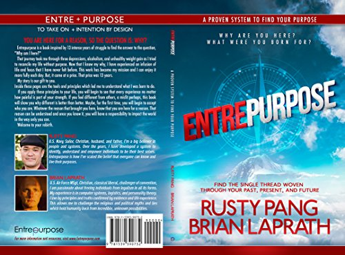 Book Shoutout:  Entrepurpose, by Rusty Pang and BrianLaprath